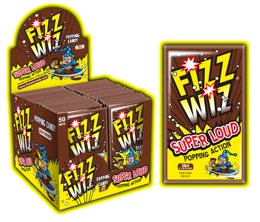 UK - Fizz Wiz - Cola - Ganje's