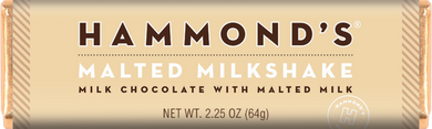 Hammond's Chocolate Bar - Malted Milkshake - Ganje's