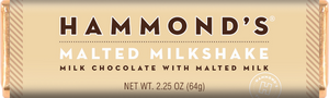 Hammonds Chocolate Bar - Malted Milkshake - Ganje's