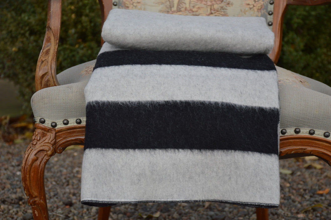 Heirloom Brushed 100% Wool Throw Blanket - Ganje's