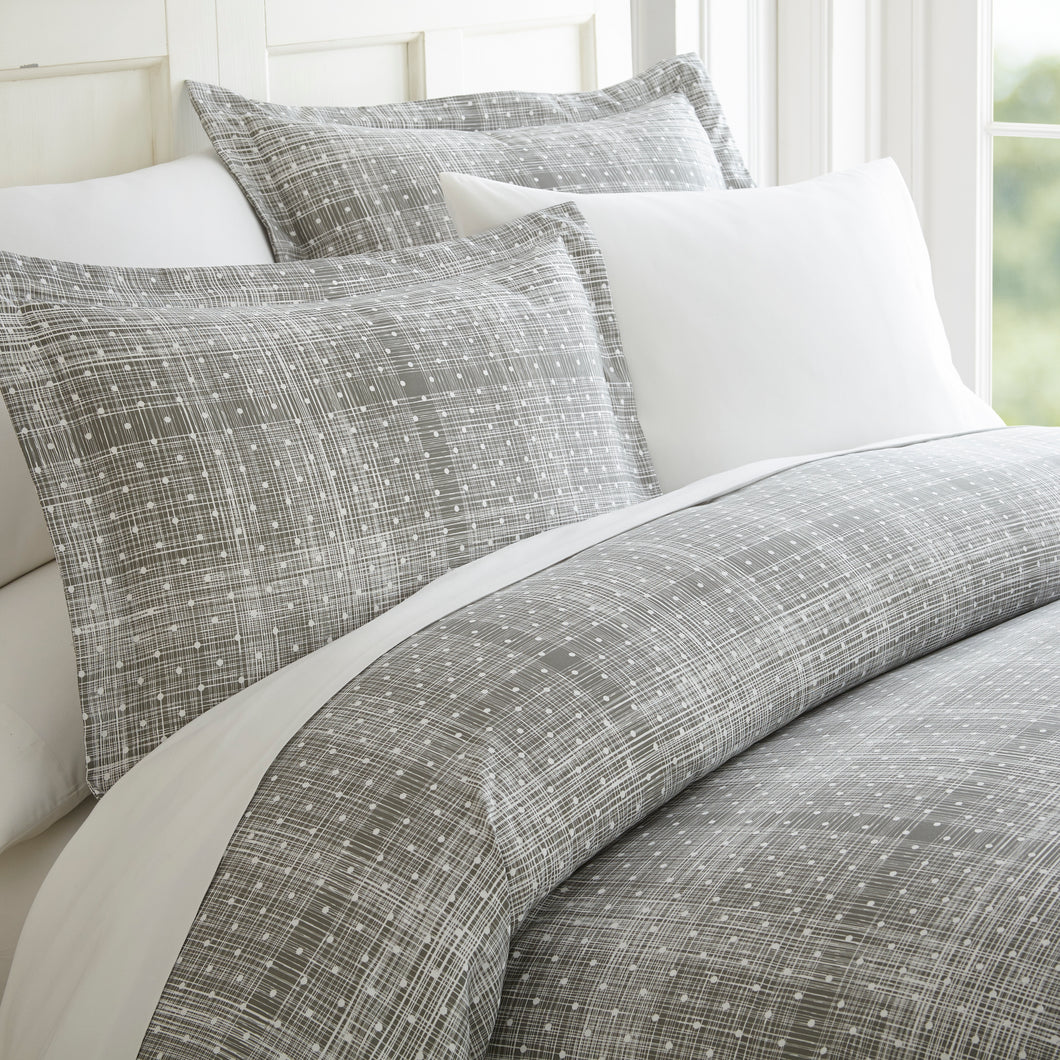 Classic Collection Duvet Set - Matrix - Classic Gray - Ganje's
