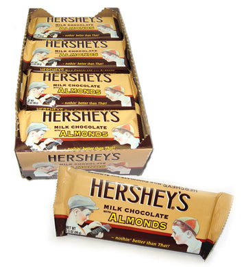 Hershey's - Milk Chocolate with Almonds Nostalgia Bar - Ganje's