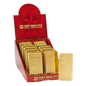 Fort Knox Milk Chocolate Ingots - Ganje's