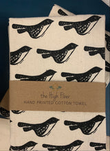 The High Fiber - Black Birds - Kitchen Towel - Ganje's