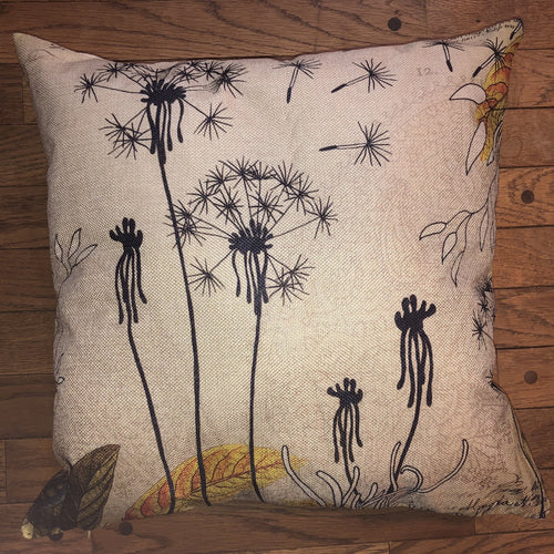 Throw Pillow - Vibrant Gardens - Ganje's