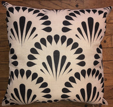 Throw Pillow - Black and White Bursts - Ganje's