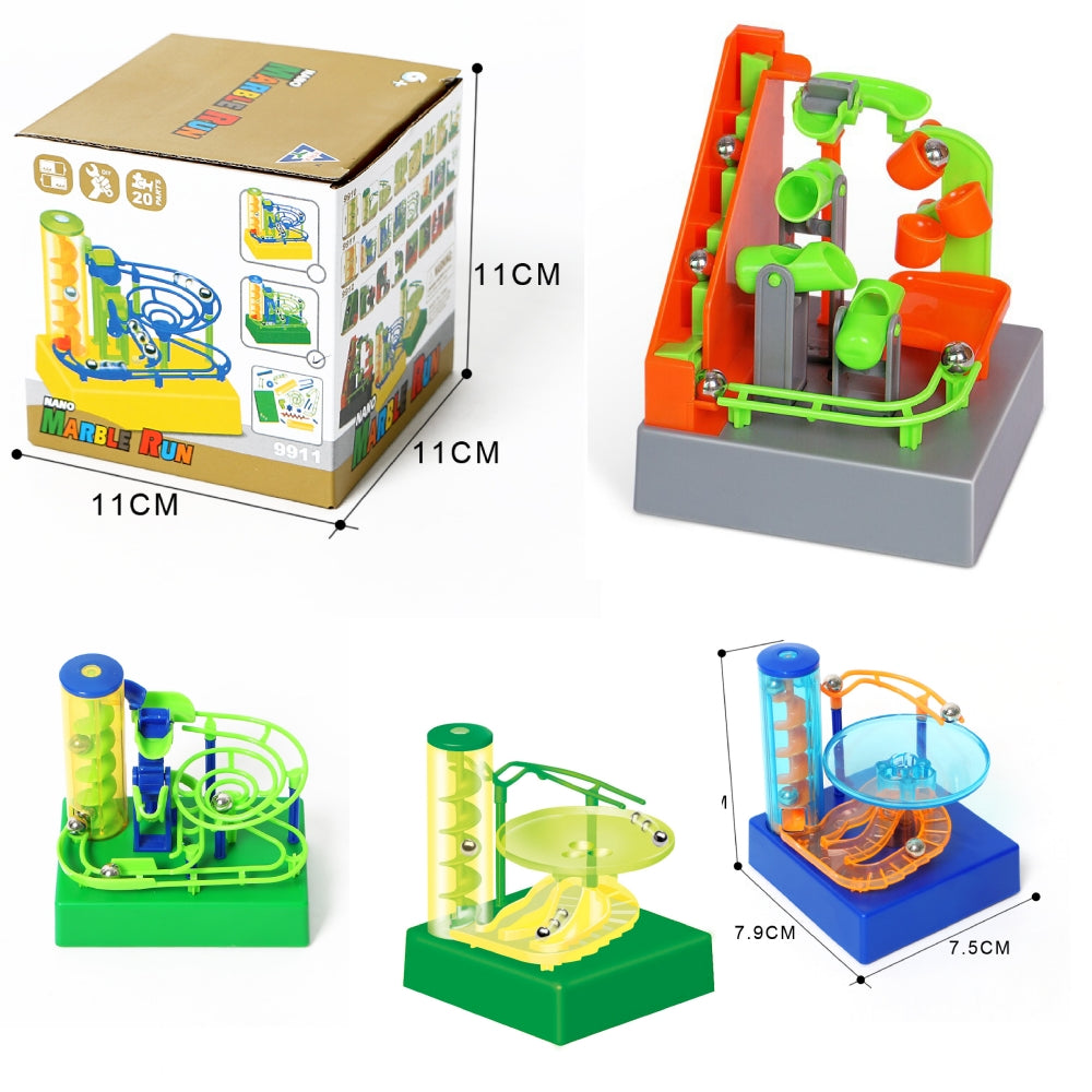 Mini Mechanical Marble Maze Track - Ganje's
