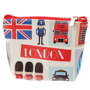 UK - London Icon Zippered Coin Purse - Ganje's