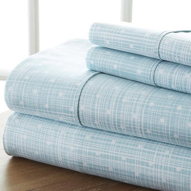 Classic Collection Sheet Set - Matrix - Heirloom Blue - Ganje's