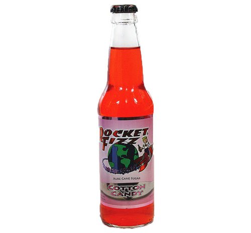 Rocket Fizz - Cotton Candy Soda - Ganje's