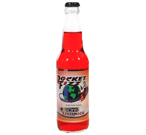 Rocket Fizz - Red Licorice Soda - Ganje's