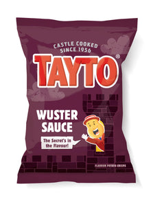 UK - Tayto Potato Chips - Wuster Sauce - Ganje's
