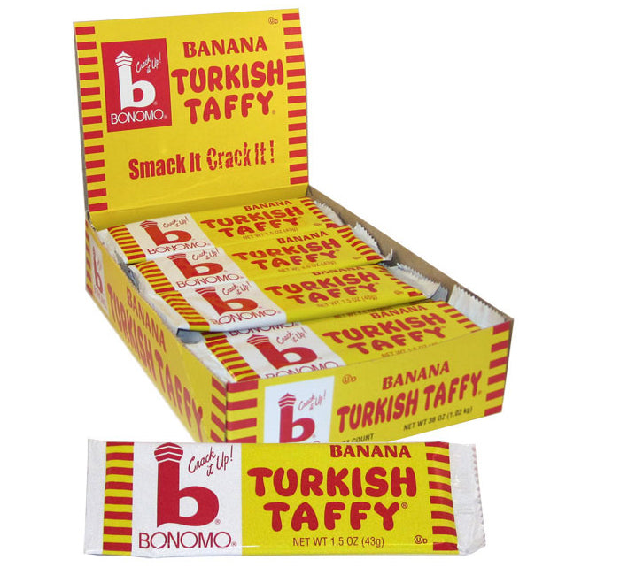 Bonomo Turkish Taffy - Banana - Ganje's