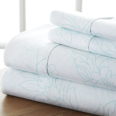 Classic Collection Sheet Set - Garden Vines - Heirloom Blue - Ganje's