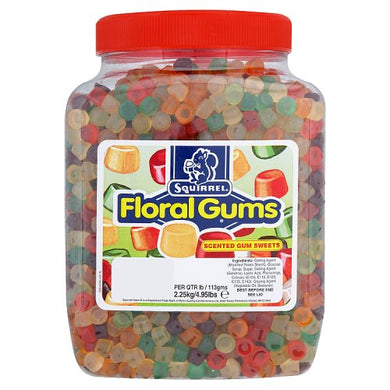 UK Squirrel - Floral Gums - Ganje's