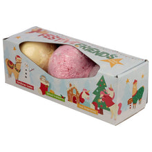 Festive Friends Christmas Bath Bombs - 3 pack - Ganje's