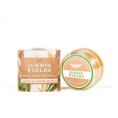 Live Beautifully - Solid Perfume - Summer Fields - Ganje's