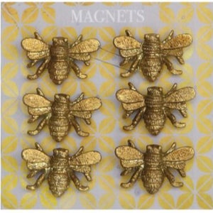 Pewter Bee Magnets - Ganje's
