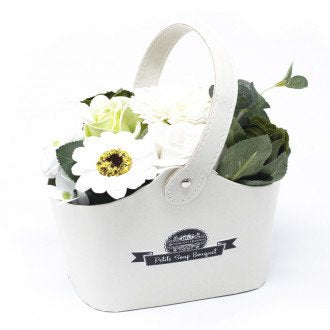 Soap Flower Bouquet - Pastel Green - Ganje's