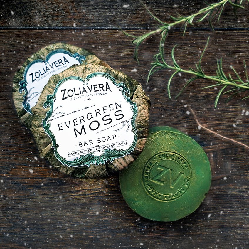 Zolia Vera - Evergreen Moss Soap Bar - Ganje's