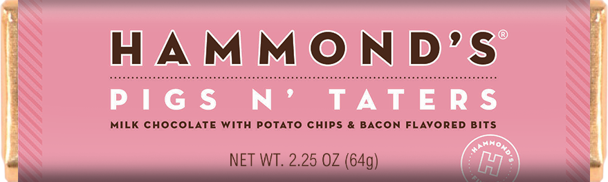 Hammonds - Pigs N' Taters - Chocolate Bar - Ganje's