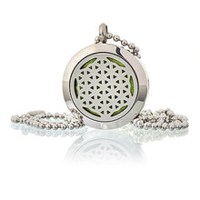 Aromatherapy Diffuser Necklace - Flower of Life - Ganje's
