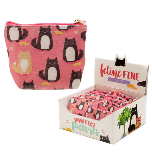 UK - Feline Paw-Fect Purr-ses - Coin Purse - Ganje's