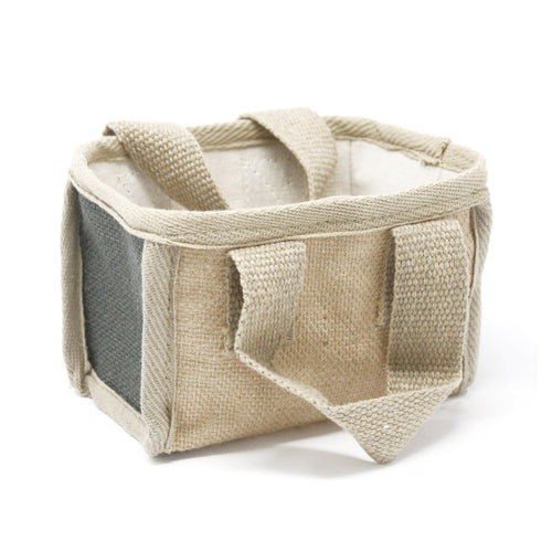 Jute & Cotton Basket - Ganje's