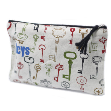 Get Organized Zip Pouches - Keys - Ganje's