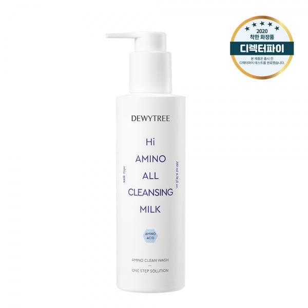 Dewytree Hi Amino All Cleansing Milk, amino clean wash