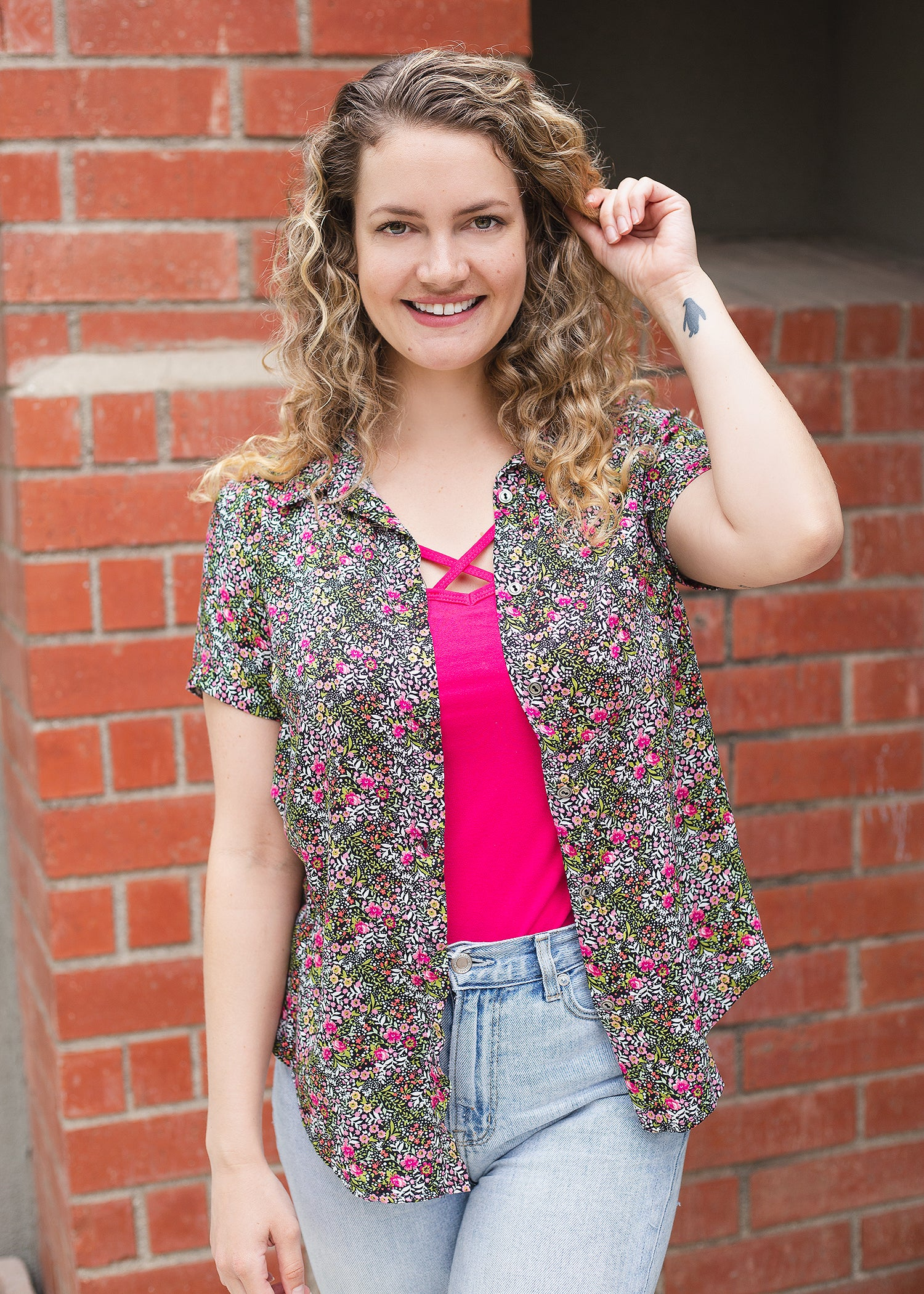 Bluebell Shirt in Floral Prints