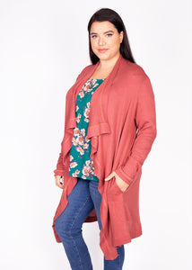 Dusty Miller Cardigan in Solid Colors