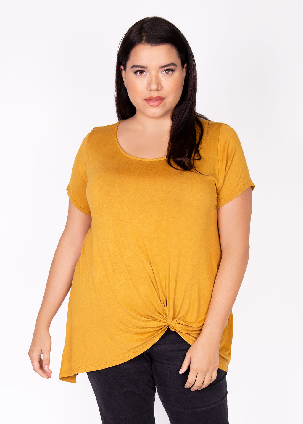 Nerine Tee in Solid Colors