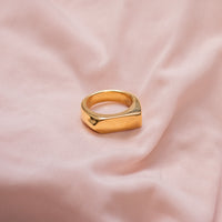 """Direction"" Chunky Arrow Ring"