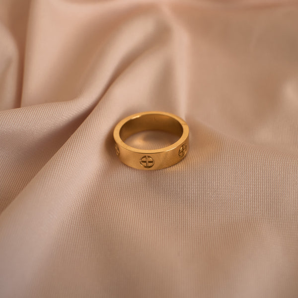"""Aurora"" Slim Ring"