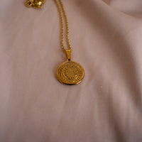 """Asher"" Disc Necklace"
