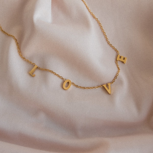 """Ava"" Love Necklace"
