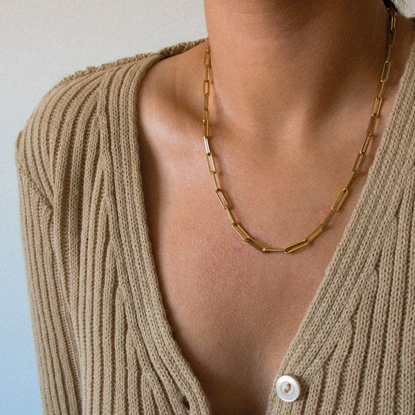 """Melanie"" Chain Necklace"