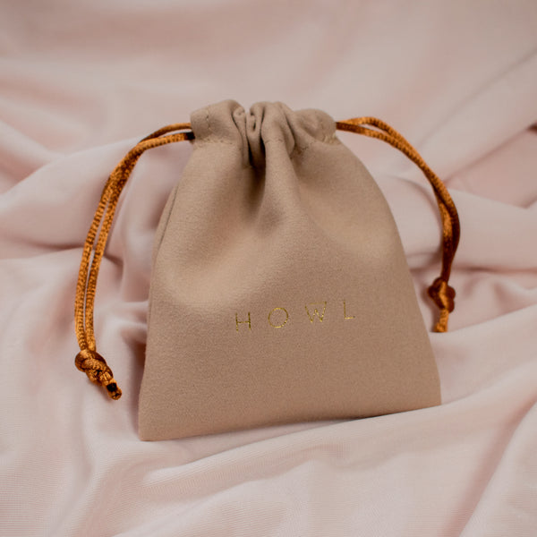 Luxury HOWL Jewellery Pouch