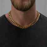 """Cain"" Thick Chain Necklace"