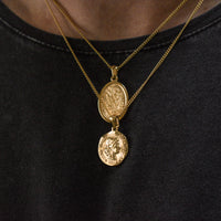 """Saints"" Coin Necklace"
