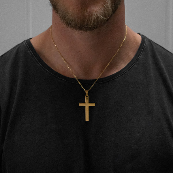 """Patrick"" Cross Necklace"