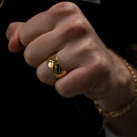"""Julius"" Quilted Ring"