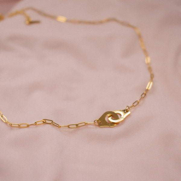 """Laynie"" Cuff Short Necklace"