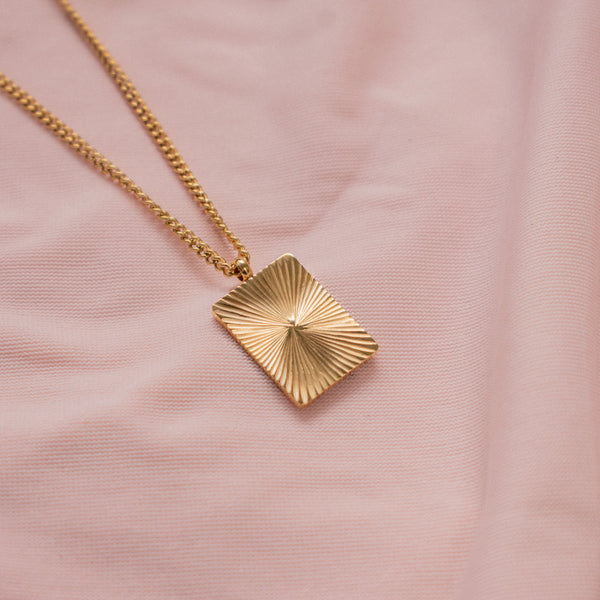 """Veronica"" Rectangle Necklace"