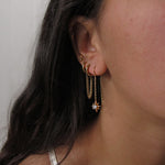 """Aria"" Sterling Silver Threader Earring"