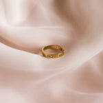 """Evette"" Numeral Gem Ring"