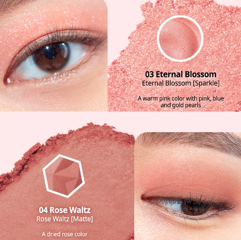 Prism Air Eye Palette # Pink Addict
