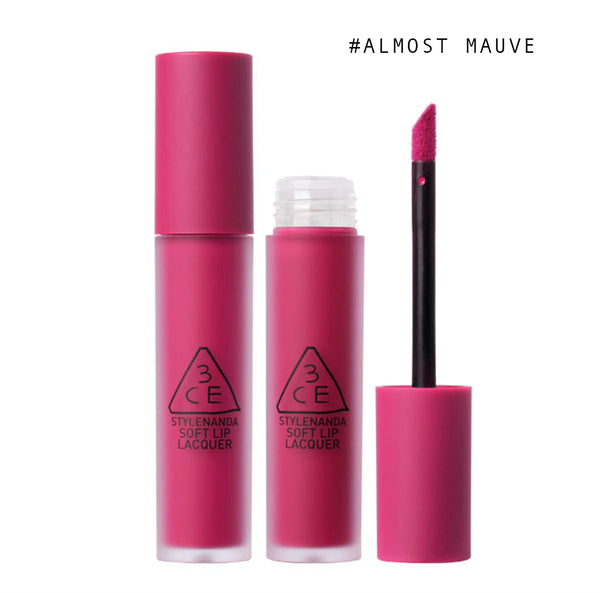 3CE Soft Lip Lacquer Matte #Almost Mauve - uyubeauty