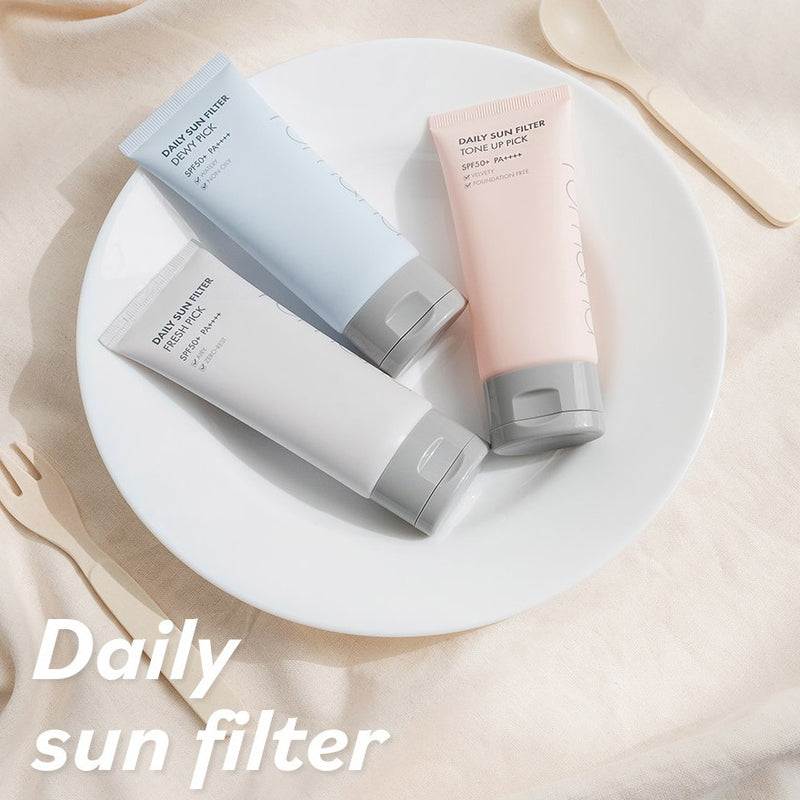 Daily Sun Filter 03. Tone-up Pick SPF 50+PA ++++ / Efecto aclarante